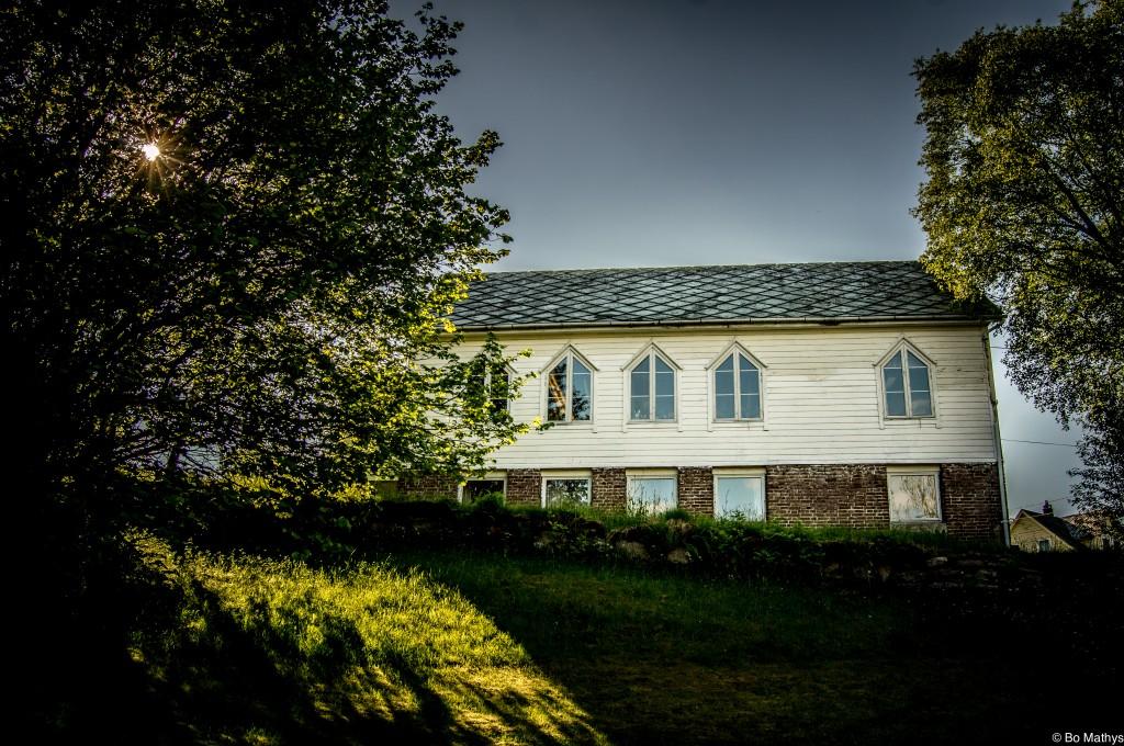 Atelier - gamle Strandvik bedehus