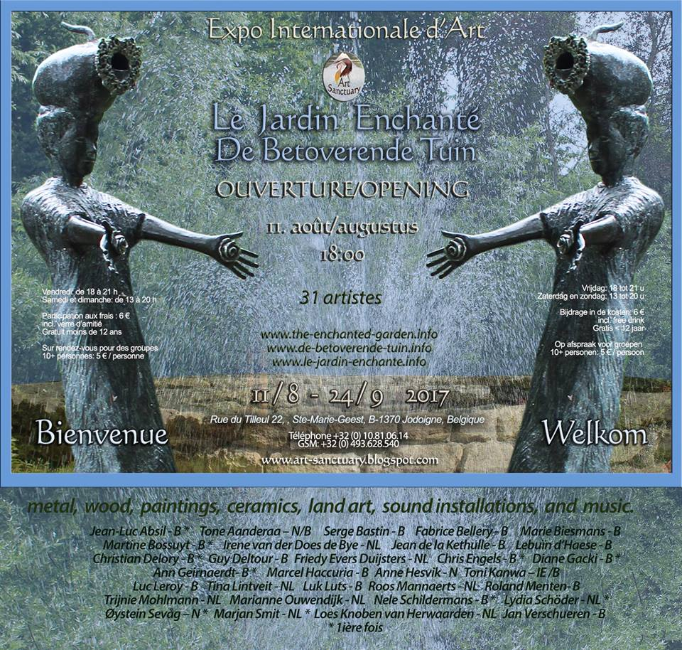 Plakaten The Enchanted garden 2017